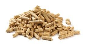 pellets древесина Стоковые Изображения