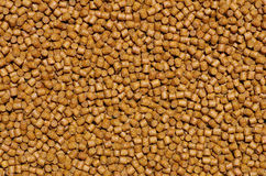 Pellets background. Close-up on animal food Stock Photo