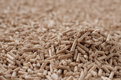 Pellets- biomass Obrazy Stock