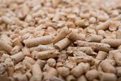 Pellets Biomass Stock Photo