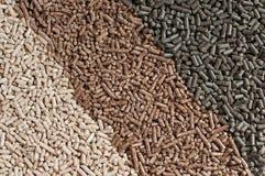 Pellets-biomassa Arkivbilder