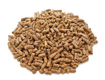 Pellets for cat litter Royalty Free Stock Photography