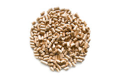 Pellets in a circle. Royalty Free Stock Photos