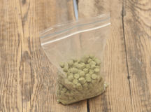 Pellets of hops Royalty Free Stock Photos