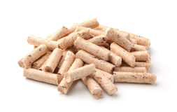 The pellets wood Royalty Free Stock Photos