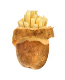 Pelli gregge delle patate, Fotografie Stock
