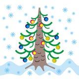 Pelliccia-albero Fotografie Stock Libere da Diritti