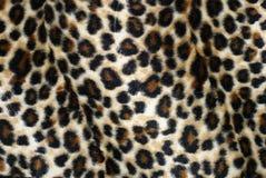 Pelliccia del leopardo Fotografie Stock Libere da Diritti