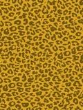 Pelliccia della pelle della stampa del leopardo Immagine Stock