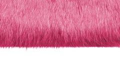 Pelliccia rosa Fotografia Stock Libera da Diritti