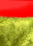 Pelliccia sintetica verde Immagine Stock Libera da Diritti