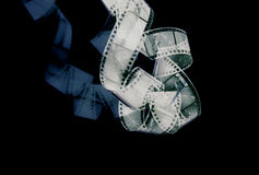 Pellicola astratta Fotografie Stock