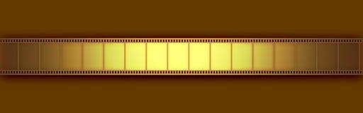 Pellicola del video del cinematografo Fotografia Stock