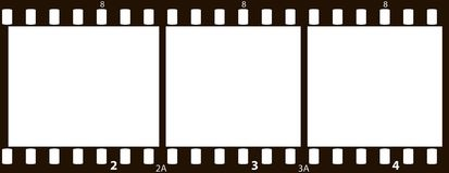 pellicola di 35mm Fotografia Stock Libera da Diritti