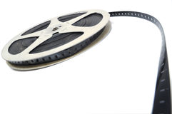 Pellicola di rullo del cinematografo fotografie stock libere da diritti