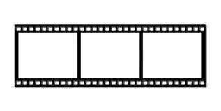 Pellicola di striscia illustrazione di stock