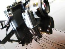 Pellicola e macchina fotografica Fotografia Stock