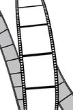 Pellicola isolata foto/di film illustrazione di stock