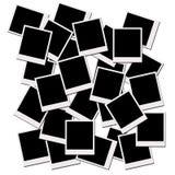 Pellicole del Polaroid Fotografia Stock Libera da Diritti