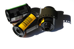pellicole di 35mm Immagini Stock