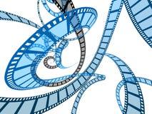 Pellicole di film astratte Fotografia Stock