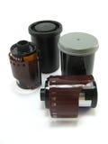 Pellicole e contenitori di foto Immagine Stock
