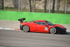 Pellin Racing team Ferrari 458 Challenge Evo 2016 Royalty Free Stock Photo
