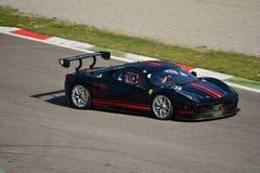 Pellin som springer den Ferrari 458 utmaningen Evo på Monza Fotografering för Bildbyråer