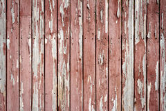 Pelling paint on wood Royalty Free Stock Photos