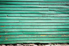 Pelling paint on wood Royalty Free Stock Images