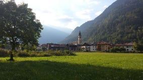 Pellizzano - Val di Единственн, Trentino Стоковая Фотография