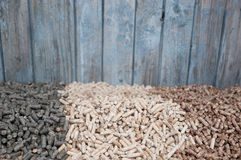 Pelllets- biomass Stock Photography