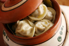 Pelmeni. Stock Photography