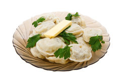 Pelmeni Royalty Free Stock Images