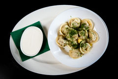 Pelmeni Stock Photography