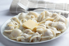 Pelmeni Stock Photos