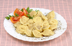 Pelmeni food Royalty Free Stock Photography
