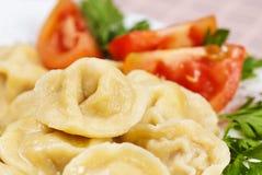 Pelmeni food Royalty Free Stock Photos