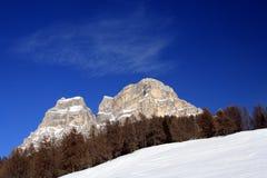 Pelmo mountain Royalty Free Stock Photography