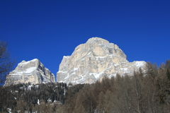 Pelmo mountain Stock Image