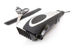 Pelo/condensador de ajuste eléctricos modernos de la barba Fotografía de archivo