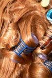 Pelo del Redhead Fotografía de archivo libre de regalías