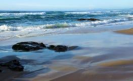 Pelo mar Foto de Stock