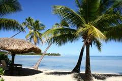 Pelo oceano, Fiji Imagem de Stock Royalty Free