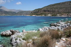 Peloponnese beach Stock Image