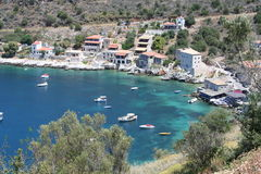 Peloponnese harbour Royalty Free Stock Images