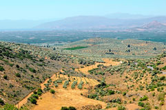 Peloponnese landcape Stock Photography