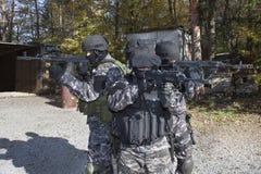 Pelotão antiterrorista especial fotografia de stock