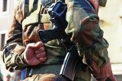 Pelotão do exército Fotos de Stock