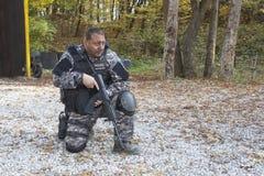Pelotón antiterrorista especial Fotografía de archivo